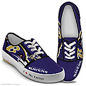 I Love The Ravens Women's Shoes