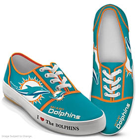 I Love The Dolphins Women's Shoes