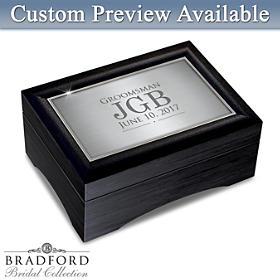 Men's Personalized Keepsake Box