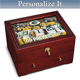 Green Bay Packers Personalized Keepsake Box