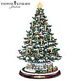Thomas Kinkade The Heart Of Christmas Tree