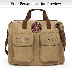 USMC Personalized Tote Bag