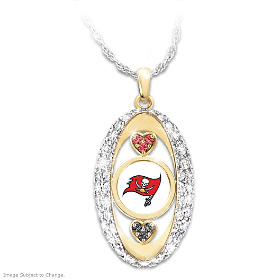 For The Love Of The Game Buccaneers Pendant Necklace