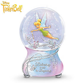 Disney Tinker Bell's Magic Glitter Globe