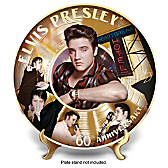 Elvis 60th First Number 1 Collector Plate