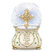 Irish Blessings Glitter Globe