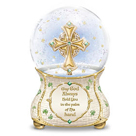 Irish Blessings Glitter Globe