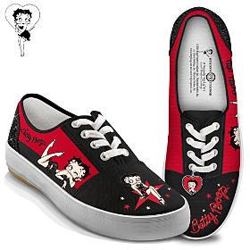 Betty Boop Movie Star Women's Shoes