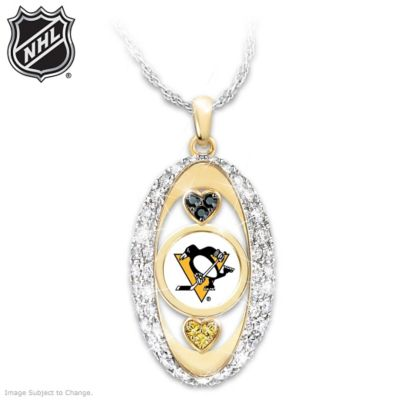 "Click here to buy ""For The Love Of The Game"" Pittsburgh Penguins® Pendant."