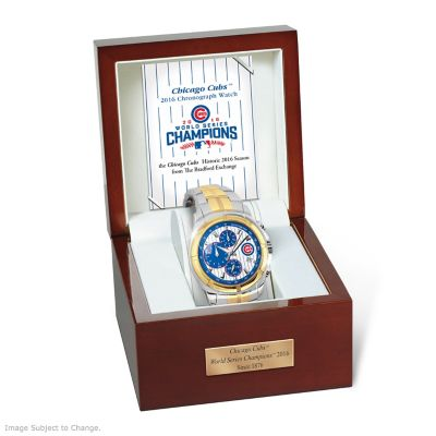 2016 World Series Champions Chicago Cubs Commemorative Watch by
