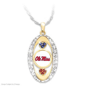 For The Love Of The Game Rebels Pendant Necklace