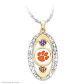 Clemson Tigers Pride! Pendant Necklace