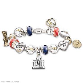 #1 Fan New England Patriots Super Bowl LI Champions Bracelet