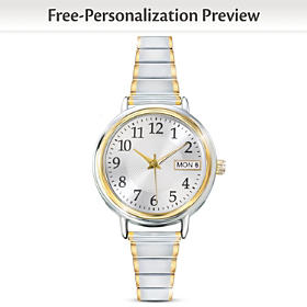 Classic Daytimer Personalized Women's Watch