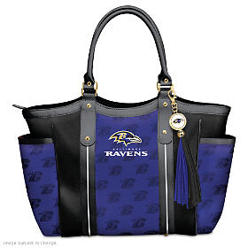 Touchdown Ravens! Tote Bag