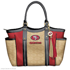 Touchdown 49ers! Tote Bag