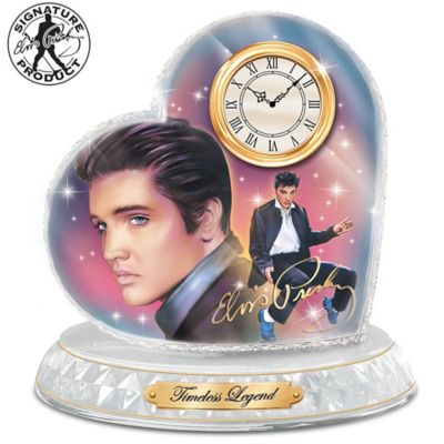 Timeless Legend Elvis Presley Clock