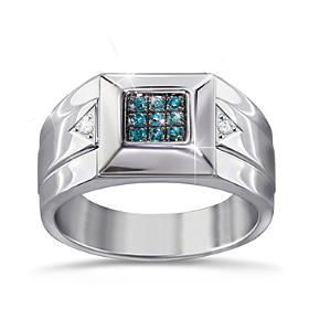 Strength Of Steel Diamond Ring