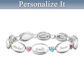 Our Precious Family Personalized Bracelet