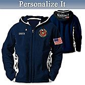 USMC Semper Fi Personalized Men's Jacket