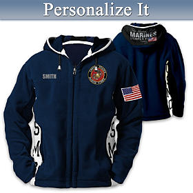 USMC Semper Fi Personalized Men's Jacket