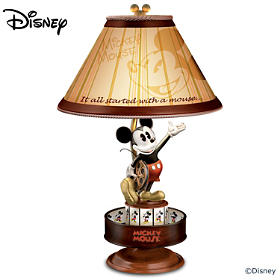 Disney Mickey Mouse Animation Magic Motion Lamp