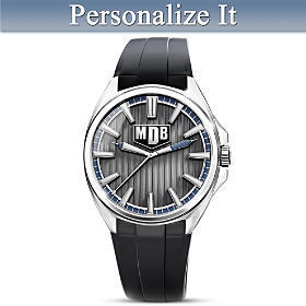 Strength Of My Son Personalized Men's Watch