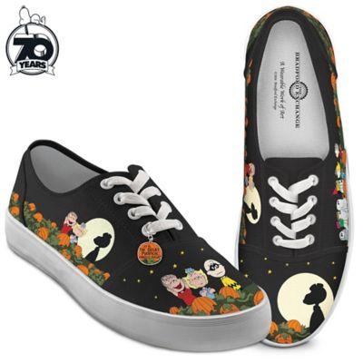 6b05ed3454 PEANUTS Charlie Brown Great Pumpkin Women s Shoes