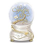 Nursing Is The Art Of Caring Glitter Globe