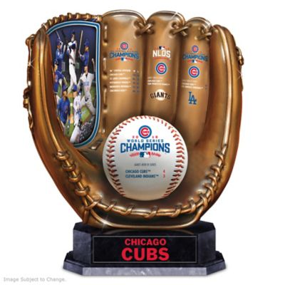 2016 World Series Champions Cubs Sculpted Glove by
