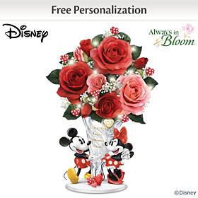 Disney A Love Like Ours Personalized Table Centerpiece