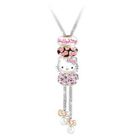Hello Kitty Face Of Fashion Necklace