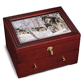 Strength Of The Pack Keepsake Box