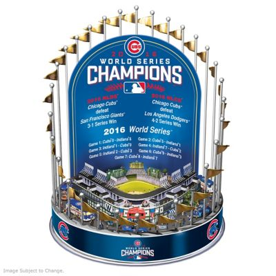 Cubs 2016 World Series Champions Lighted Musical Carousel by