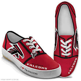 I Love The Falcons Women's Shoes
