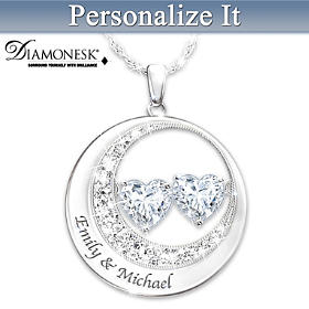 I Love You Personalized Pendant Necklace