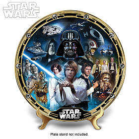 STAR WARS Masterpiece Collector Plate