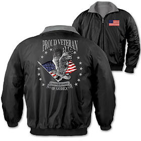 Proud Veteran Men's Jacket