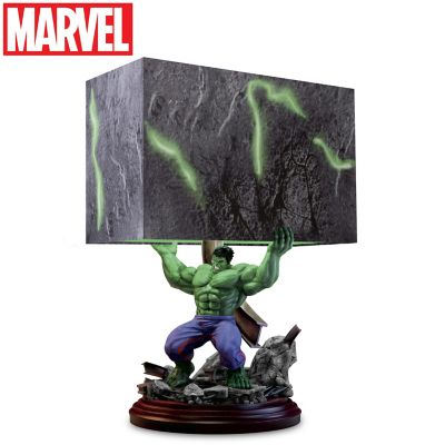"""Click here to buy """"HULK Smash"""" Sculpture Table Lamp."""