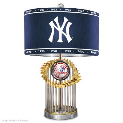 New York Yankees World Series Lamp by