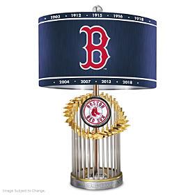Boston Red Sox World Series Lamp