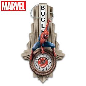 SPIDER-MAN Daily Bugle Wall Clock