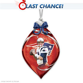 Tom Brady Ornament