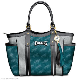 Touchdown Eagles! Tote Bag