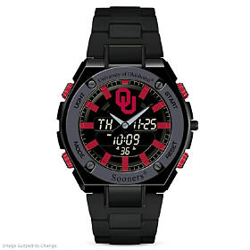 It's Sooners Time! Men's Watch