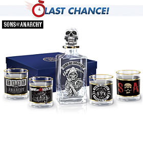 Sons Of Anarchy Decanter Set