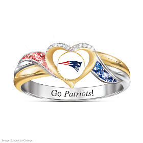 New England Patriots Pride Ring