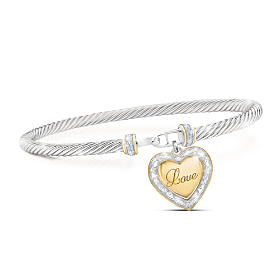 Love For My Daughter Diamond Bracelet