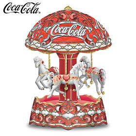 COCA-COLA Carousel Music Box