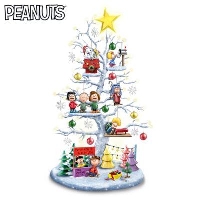 Peanuts Christmas Tree.The Perfect Peanuts Christmas Illuminated Tabletop Tree